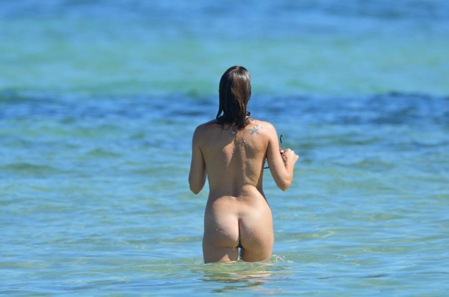 Eve Angeli totalement nue