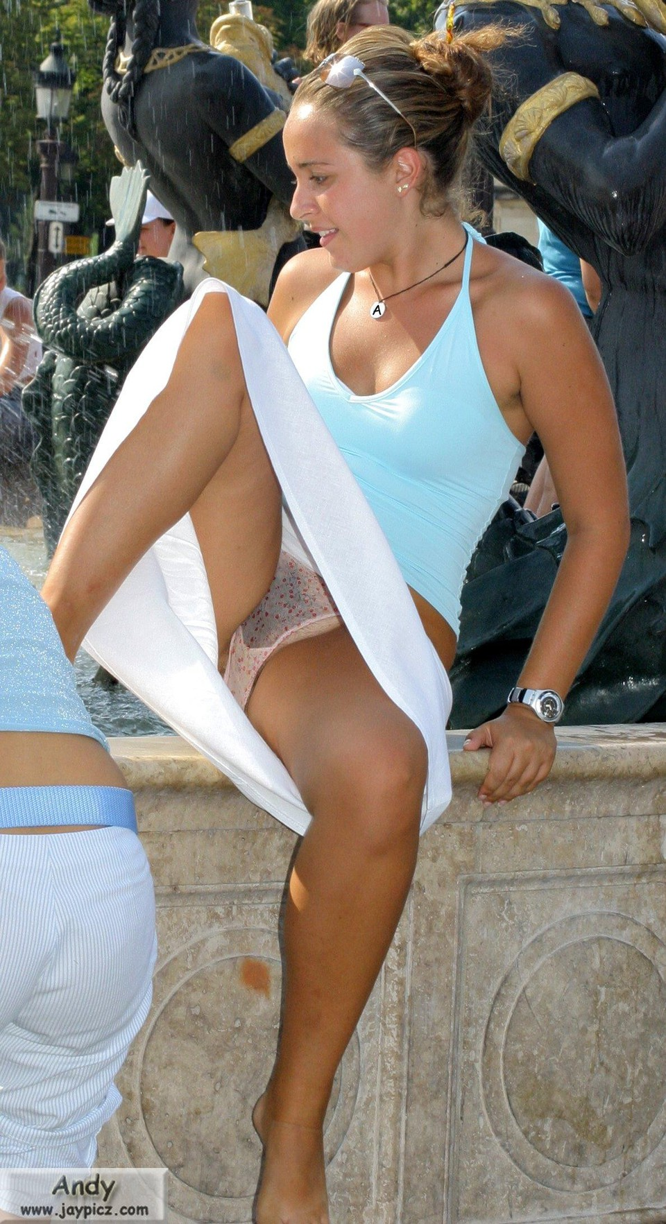 Femme amatrice en culotte