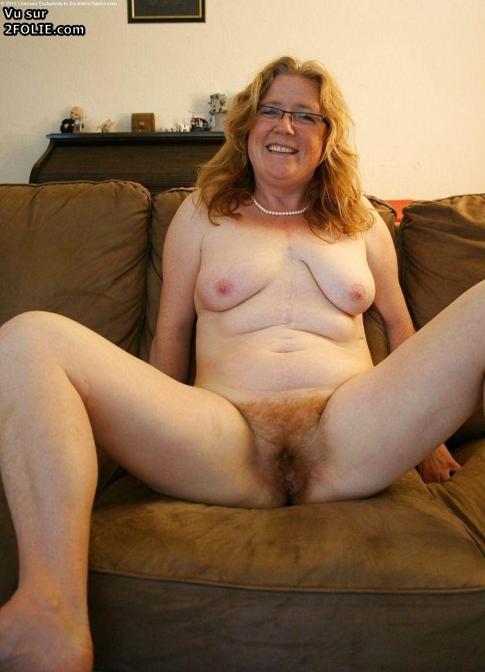 Image Femme rousse photo à poil
