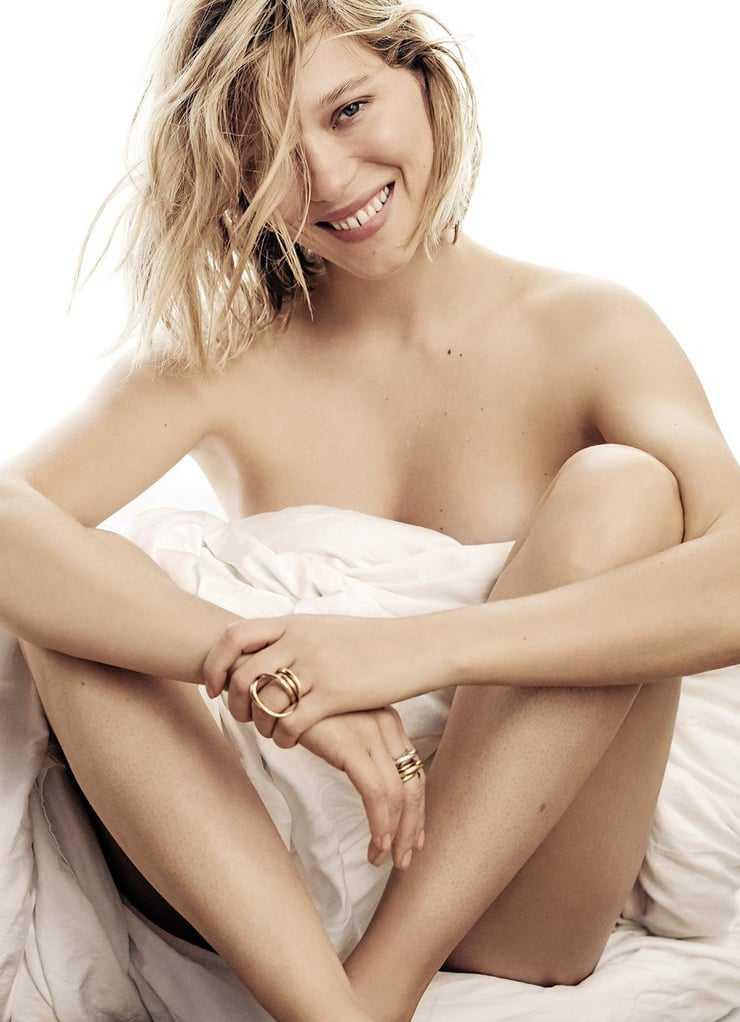 Lea Seydoux naked intégral
