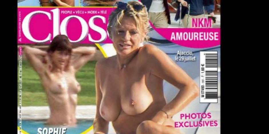 Sophie Davant nude